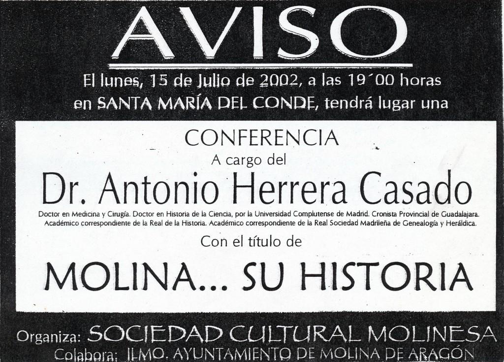 Molina...su historia, de Antonio Herrera Casado