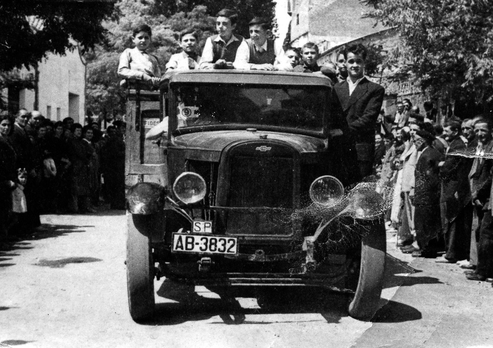 San Cristobal 1951 primera camioneta valencianos