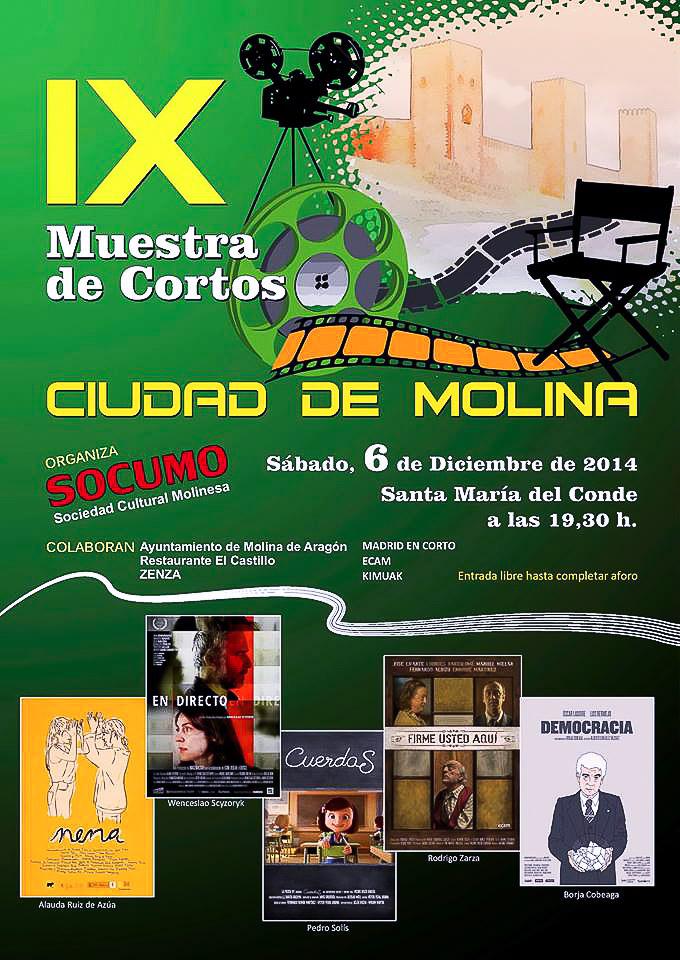 cartel cortos 2014
